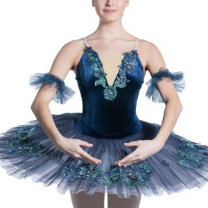 Blue girls ballet tutu