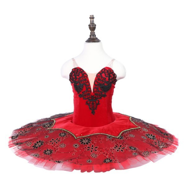 Red stretch Ballet Tutu