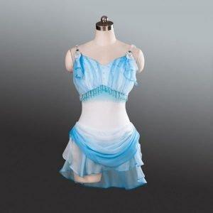 Diana Blue Ballet Costume