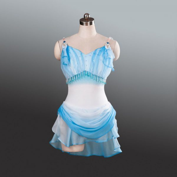 Diana Blue Ballet Costume