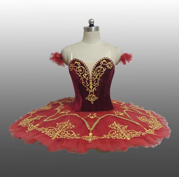 Red Velvet Ballet Tutu