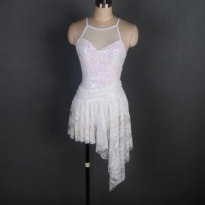 Cupid white costume