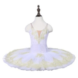 Girls White Ballet Tutu (BB02)