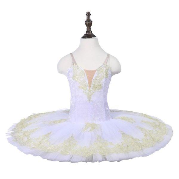 Girls White Ballet Tutu (BB02)