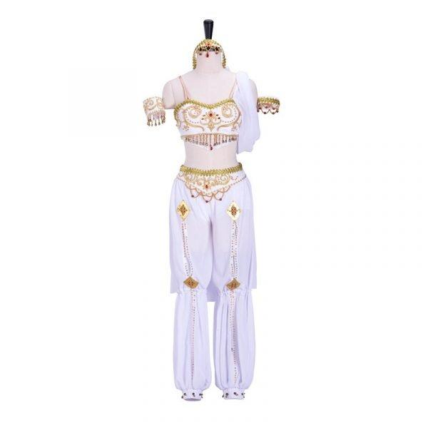 White ballet costume