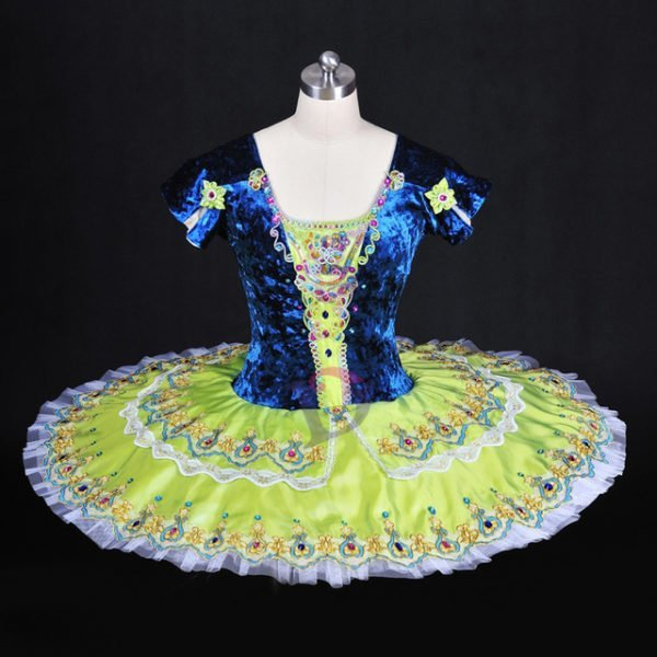 Vivid Green Ballet Tutu
