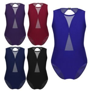 Girls Mesh Leotard