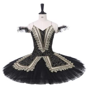 Adult Black Ballet Tutu TB77 - Custom Made