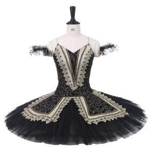 Adult Black Ballet Tutu TB77 - Custom Made