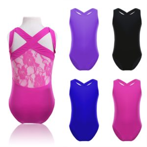 Girl's Lace Leotard
