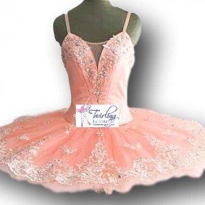 Orange Fairy Ballet Tutu