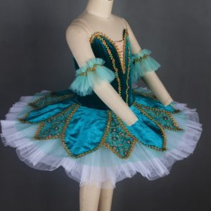 Blue Green Stretch Tutu