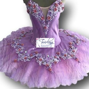 Lilac Lilly Fairy Ballet Tutu