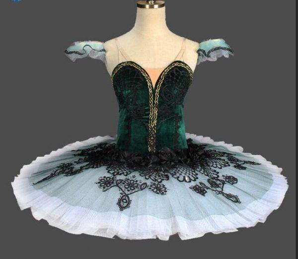 Deep Green Ballet Tutu