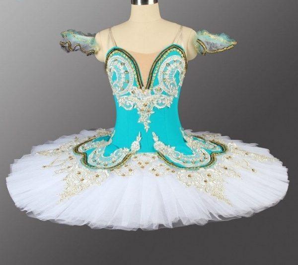 Turquoise Petal Ballet Tutu