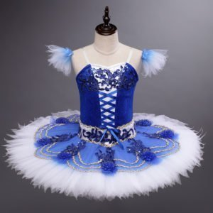 Girls Blue Ballet Tutu