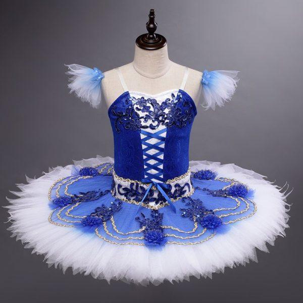 Girls Blue Ballet Tutu