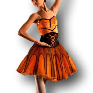 Orange Esmeralda Ballet Costume
