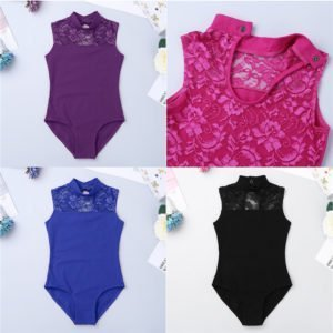 Purple Lace Leotard
