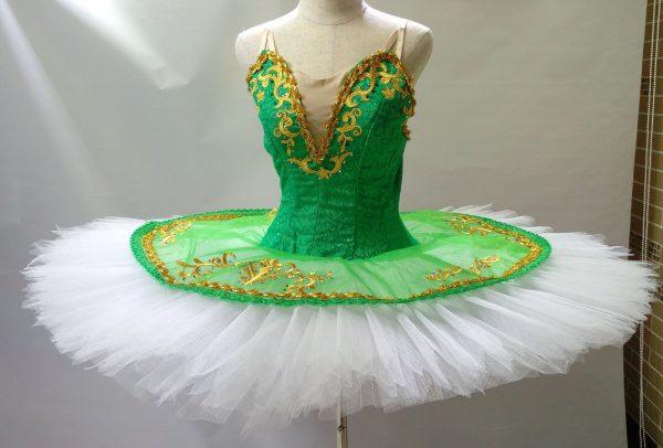 Green Goddess Ballet Tutu