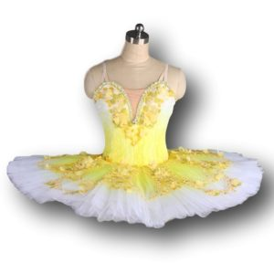 Yellow Flower Ballet Tutu