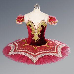 Dark Red Ballet Tutu