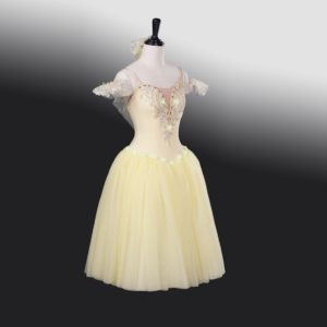 Pale Yellow Romantic Tutu