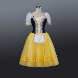 Bright yellow Romantic Tutu
