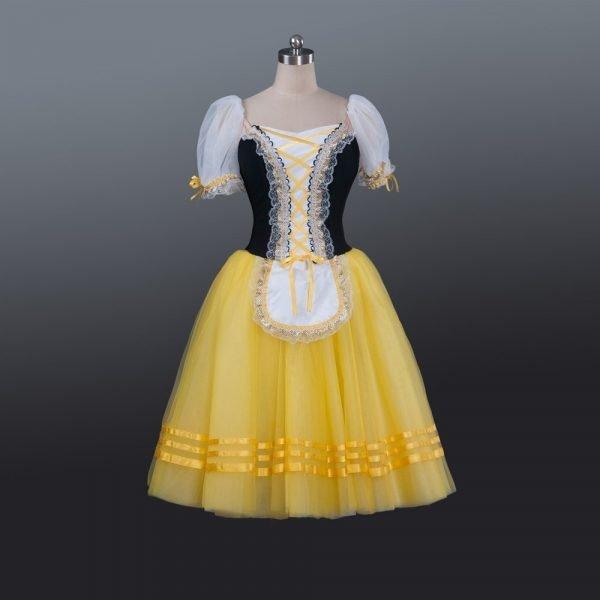 Bright yellow Romantic Tutu