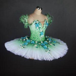 Green Meadow Fairy Tutu