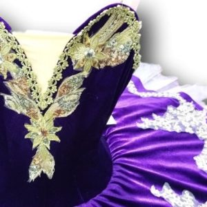 Dacia Purple Ballet Tutu