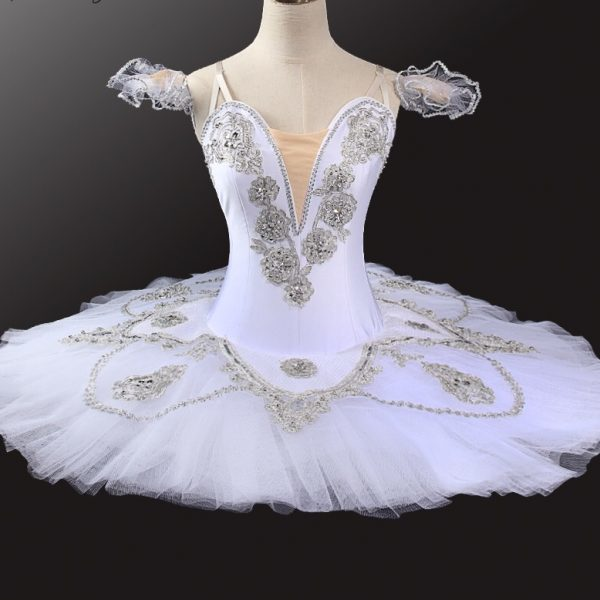 White Swan Ballet Dance Costume