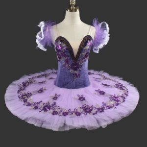 Purple Flower Tutu