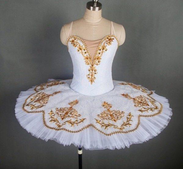 White Lace Ballet Tutu