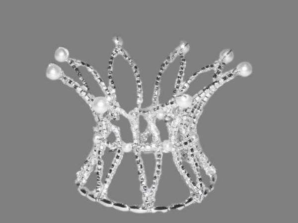 Snow Flake Ballet Tiara #6