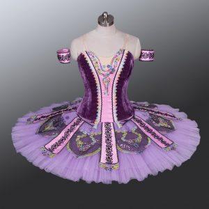 Dark Purple Ballet Tutu