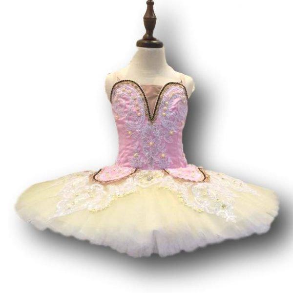 Pink Flower Ballet Tutu