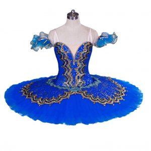Bright Blue Ballet Tutu
