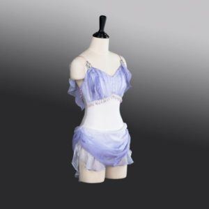 Diana Purple Ballet Costume