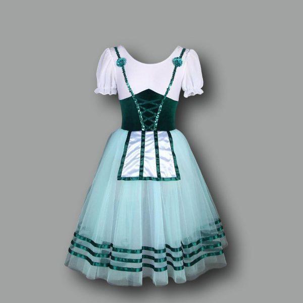 Green Degas Ballet Costume
