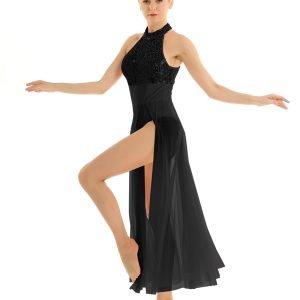 Black Contemporary Dance Costume