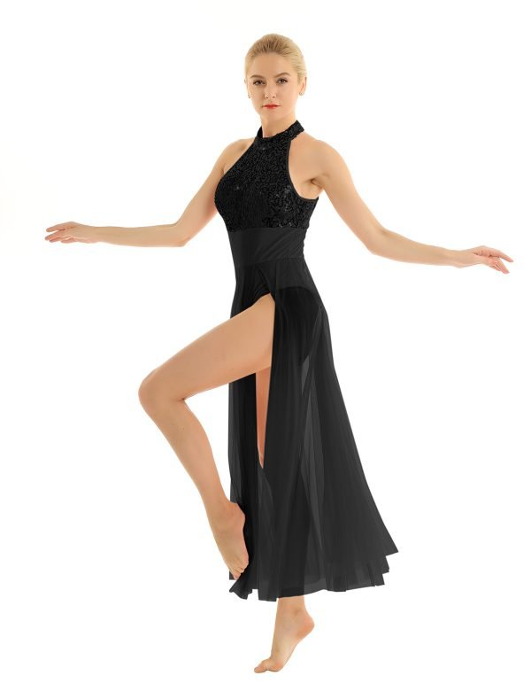 Black Contemporary Dance Costume