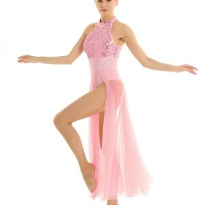Pink Contemporary Dance Costume