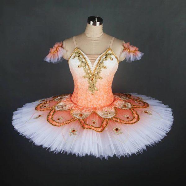 Orange Classical Ballet Tutu