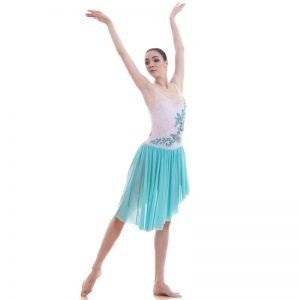 Turquoise dance costume