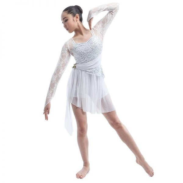 White dance costume