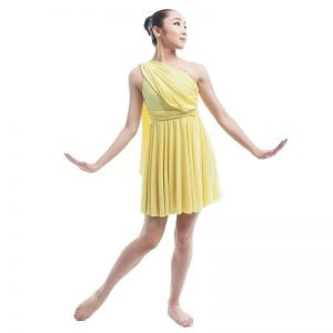 Yellow dance costume