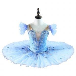 Blue cinderella ballet tutu