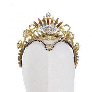 Gold Ballet Crown