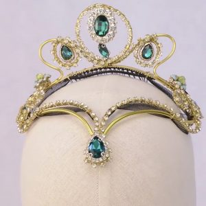 Green Ballet Headpiece